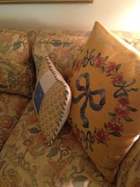 Needlepoint pillows