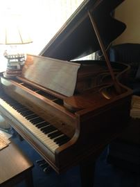 Chickering Quarter Grand Piano