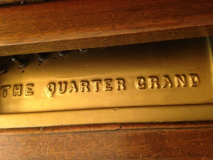 The Quarter Grand Piano