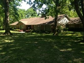 Long time Tyler residents Dr. Tom & Jean Lyles are downsizing; this over 3500 sq. ft. home must be emptied!