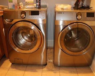 Samsung Washer & Electric  Dryer