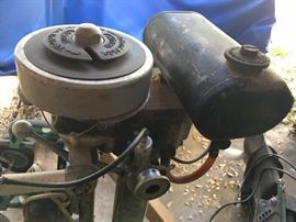 British Seagull trolling motor