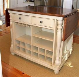 Kitchen work cabinet