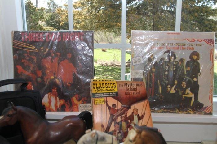 Popular records in sleves