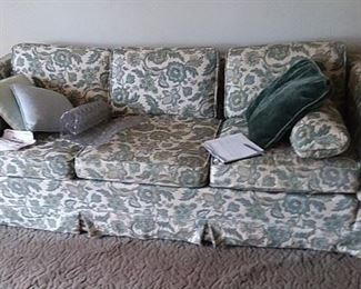 Excellent construction makes this a sofa you can re-upholster time again.