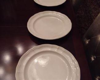 8 Phaltzgraf white plates, good condition