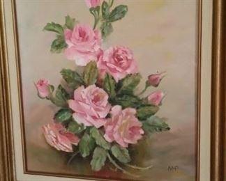 Original oil painting on board
