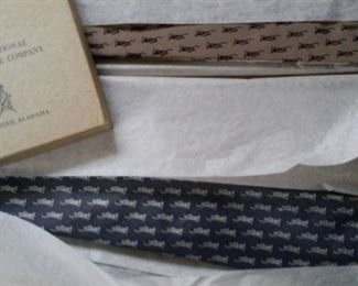 Liberty Mutual thin ties. New in box, from 50 years back!