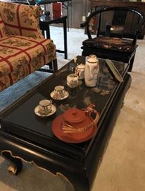 Oriental Pieces and Decor