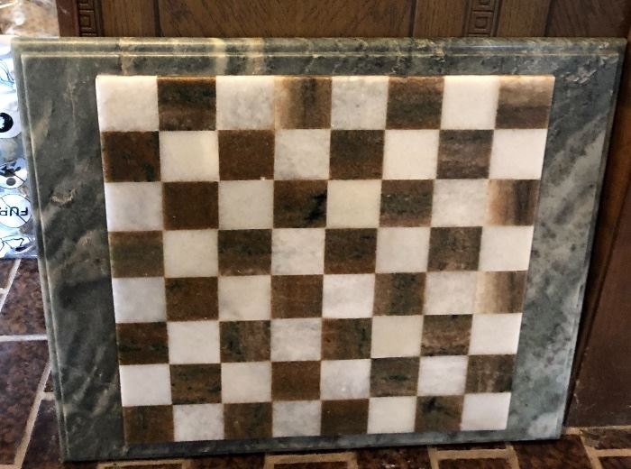 Large Marble Chess Board