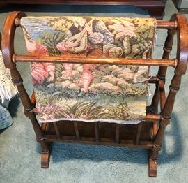 Small Quilt Rack