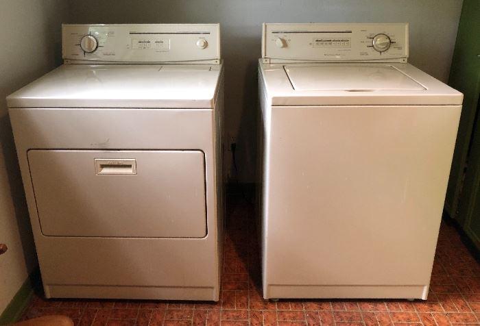 Older Washer/Dryer.  Both Work Fine