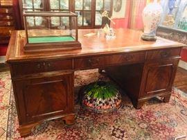 A True English Partners Desk ca 1900