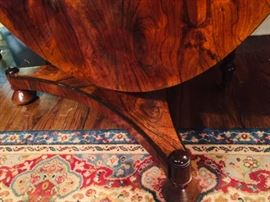 Detail of Rosewood Table