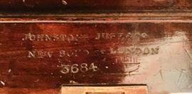 Signature of Johnstone & Jupe Furniture Makers