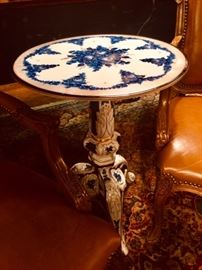 Dresden Porcelain Occasional Table
