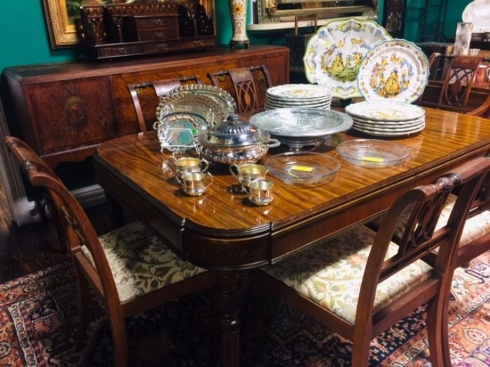 Antique Dinning Suite