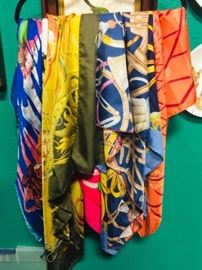 Hermes, Gucci, Bulgari & other Scarves