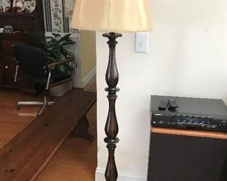 Wood Floor Lamp $ 44.00