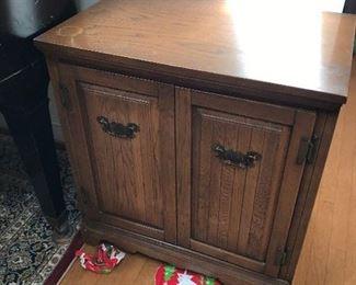 Wood cabinet $ 88.00