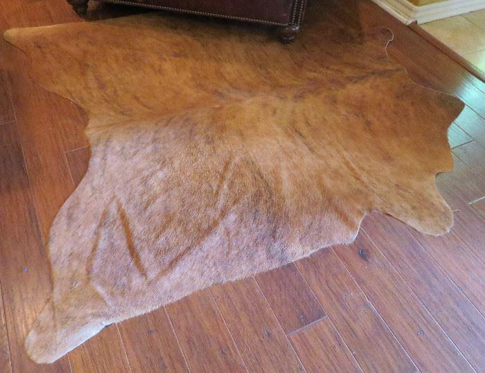 Calf hide rug