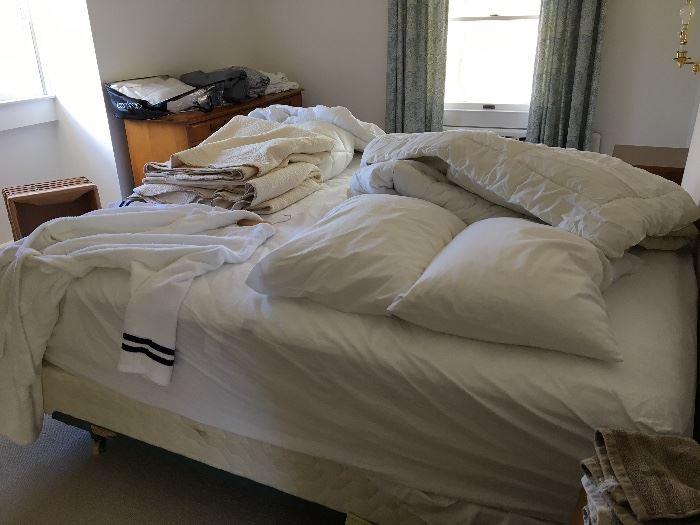 king sheets and mattress