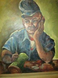 Oil painting - 19502