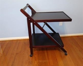 Space saver folding table