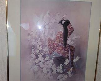 More framed matted art