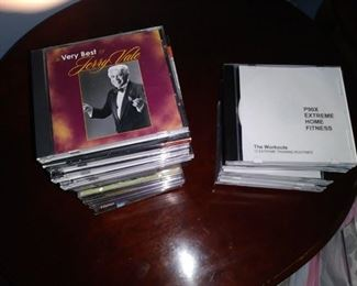 Large selection of CDs
