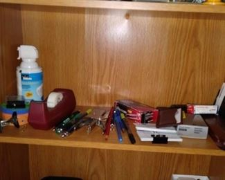 Large variety of office supplies