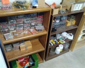 Large variety of tool shop hardware