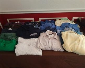 Assorted men shirt's size large