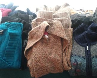 More assorted woman sweaters