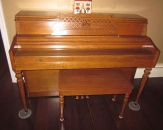 Rudolph Wurlitzer Upright Piano
