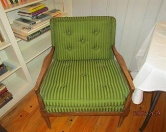MID CENTURY CHAIRS (ONE OF 2)