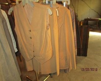 VINTAGE CLOTHING - 3 PC CAMEL OUTFIT