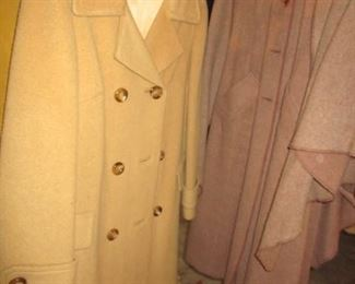 CAMEL HAIR COAT