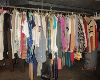 LOTS OF VINTAGE CLOTHES