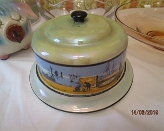 ANTIQUE BUTTER/CHEESE KEEPER