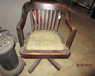 OLD DESK CHAIR