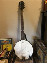 Washburn 6-string banjo