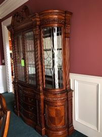China Cabinet with beveled glass