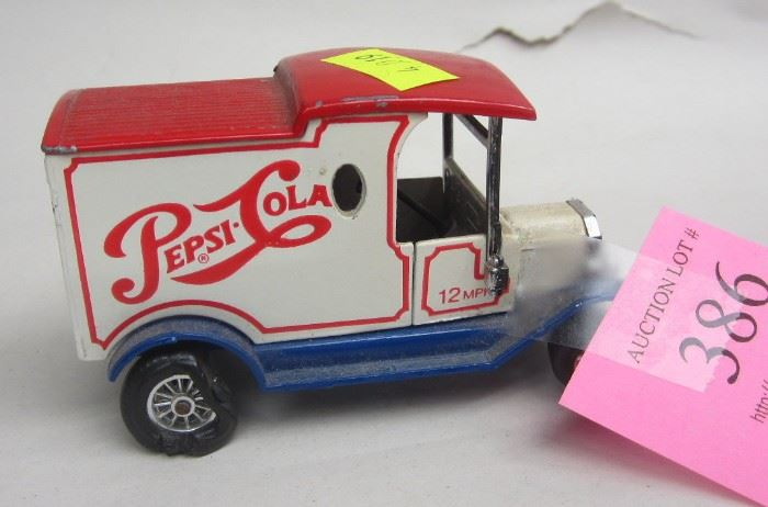 matchbox pepsi truck