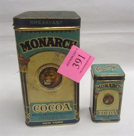 old cocos tins