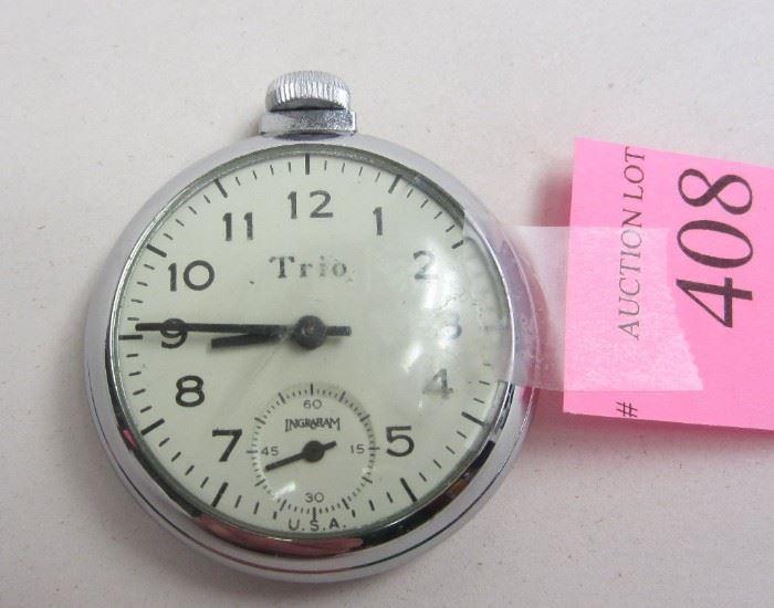 Trio pocket watch