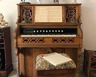 Gorgeous Antique Pump Organ, completely Refurbished!