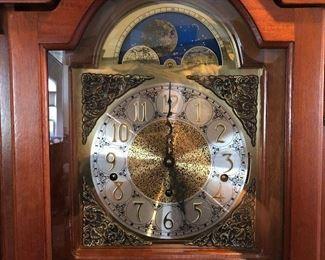 Beautiful Hermle Grandfather Clock!