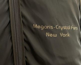 Top of the Line Gorgeous Full Length Mink Coat from one of the Nation's leading Furriers, Megaris-Crystal Furs of New York. This coat was recently given an informal appraisal by a top Furrier in Nashville who gave an opinion that the present value would be between 5k-6k.