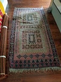 Several Antique Rugs to choose from.